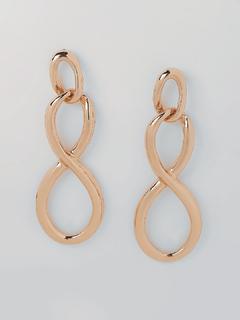The Infinity Drop Earrings