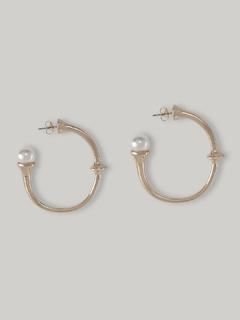 Pearl On Top Earrings