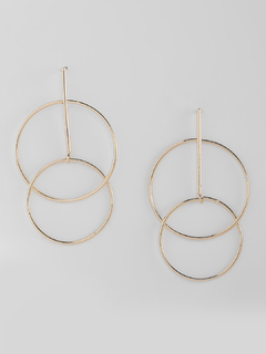 Line Up The Circles Earrings