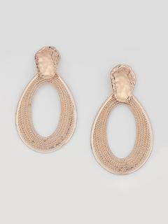 Teardrop In Gold Earrings