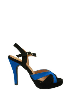Eclectically You Colorblock Heels
