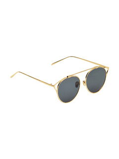 Edges Of Gold Sunglasses