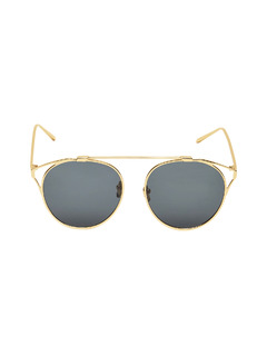Accessories-Edges Of Gold Sunglasses