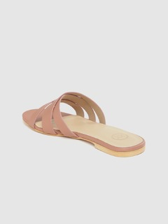 Shoes-Pink Beautifully Criss Cross Flats