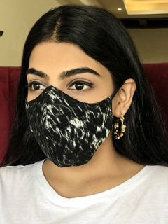 Accessories-Monochromatic Printed Reusable Face Mask Pack