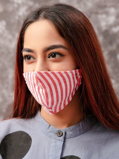 Accessories-Red Striped Yarn Dyed Reusable Face Mask Pack