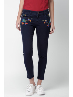 Florals Amidst The Darkness Denims