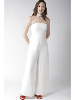 For The Love Of White Jumpsuit