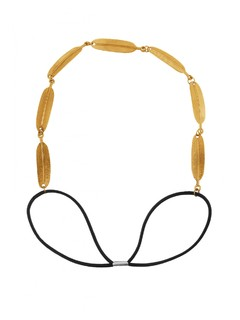 Gold Amazon Jungle Elastic Hairband