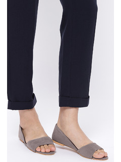 Grey Keeping It Chic Flats