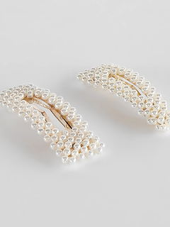 Accessories-Ropes Of Pearls Hairpin Set
