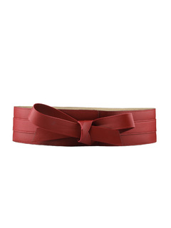 Its A Wrap Broad Maroon Belt