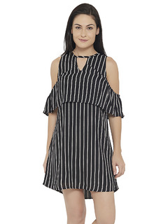 Layers Of Stripes Dress
