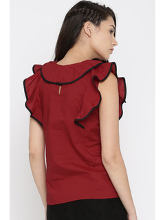Apparel-Let It Ruffle Top