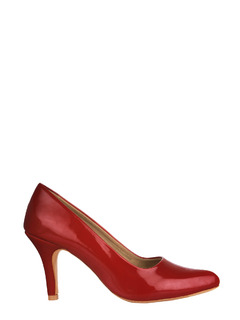 Maroon The Effortless Classic Heels