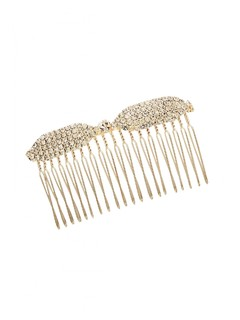 My Diamond Studded Bow Haircomb