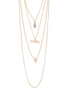 I Blue My Heart Necklace
