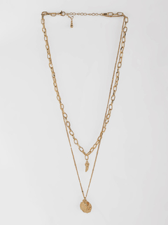 Accessories-Gold Trail Necklace