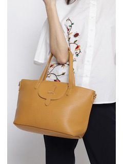 Out Of Space Brown Handbag