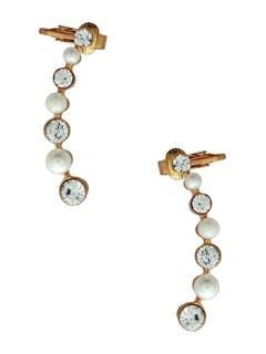 Pearl Delight Ear Cuff Pair