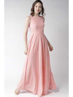 Pink All About Tonight Maxi Dress