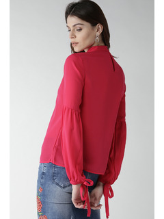 Apparel-Pink Up Your Sleeve Top