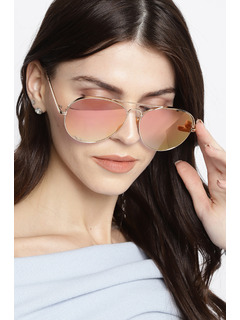 Play It Cool Rose Gold Sunglasses