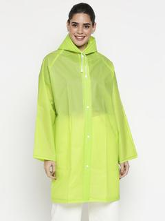 Apparel-Green Always So Bright Raincoat