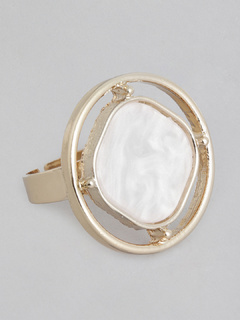 Accessories-Radiating White Ring