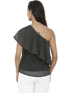 Apparel-Right On Spot Polka Top