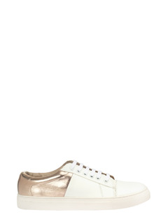Rosy Side Of Gold Sneakers