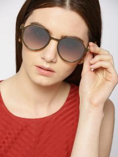 Accessories-The Retro Me Green Sunglasses