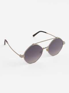 Silver Look At Me Now Sunglasses