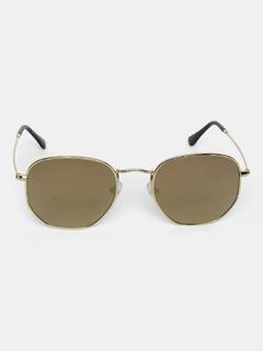 Accessories-Brown Make Them Stare Sunglasses