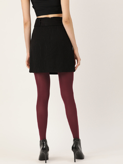 Accessories-It Is Sheer Madness Maroon Stockings