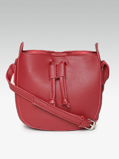 Chic To Chic Red Bucket Bag