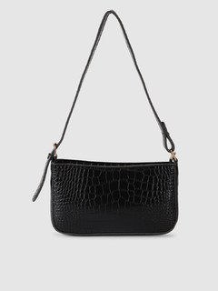 Grab And Go Black Textured Sling