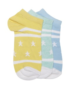 Accessories-Pack Of Three Make Me Happy Socks