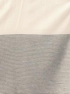 Accessories-The Subtle Stripes Blue Scarf