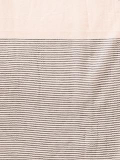 Accessories-The Subtle Stripes Beige Scarf