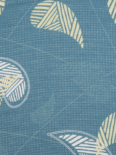 Accessories-Green Such Fine Prints Scarf