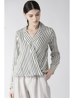 Stripe A Pose Top