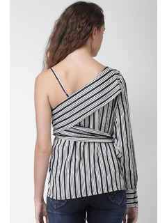 Apparel-Stripe Around Me Top