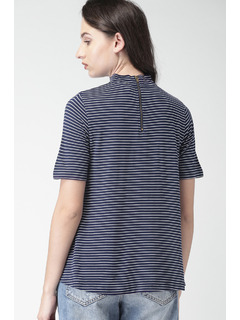 Apparel-Stripes All The Way Up Top