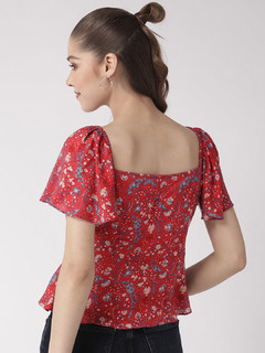 Apparel-Lady Like Floral Top