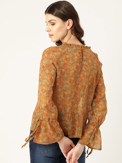 Apparel-Fields Of Shimmer Top