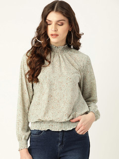 Apparel-Dappled Dots Top