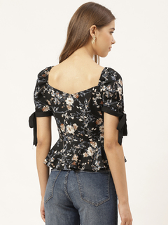 Apparel-Pepped In The Peplum Top