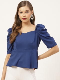Apparel-Everything I Wanted Peplum Top
