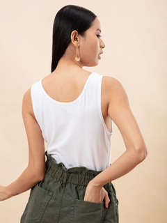 Apparel-I Feel Pretty White Bodysuit